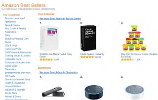 Amazon Best Sellers List