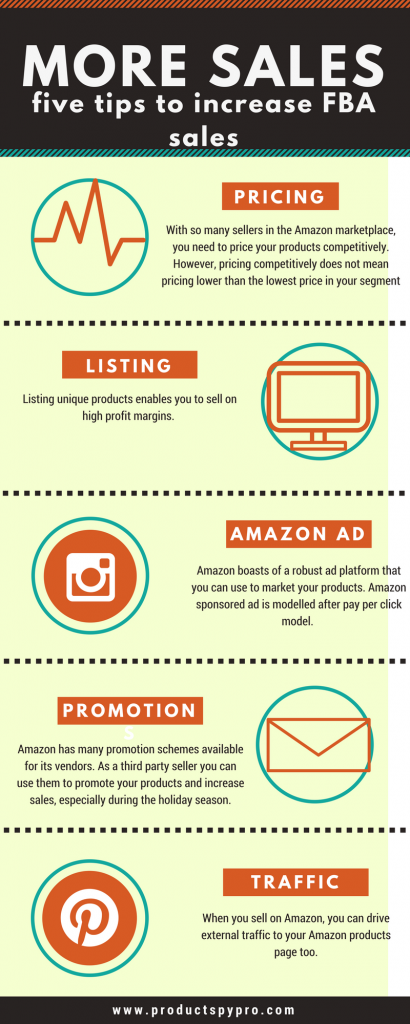 tips to increase amazon fba sales
