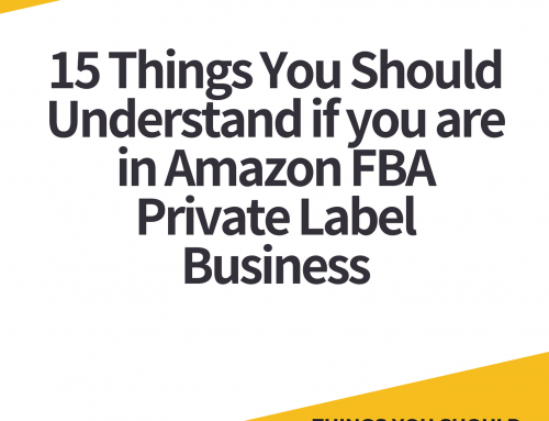 15 Things You Should Understand if you are in Amazon FBA Private Label Business
