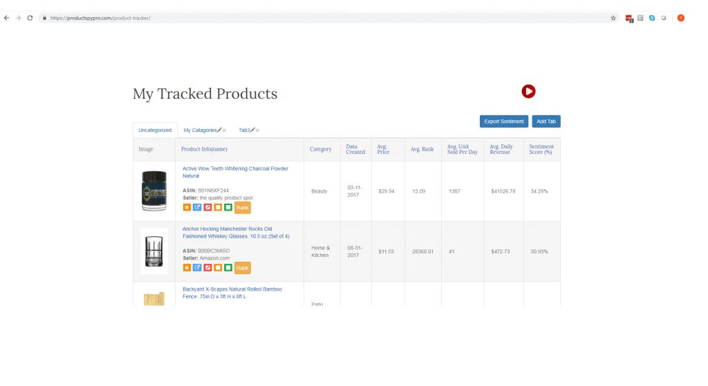 product spy pro rank tracker
