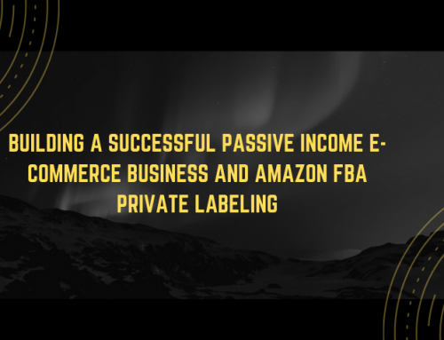 Building a Successful Passive Income E-Commerce Business and AMAZON FBA Private Labeling